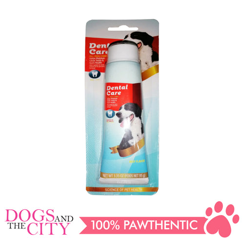 Bm Dental Care Toothpaste Beef for Dog 95g - All Goodies for Your Pet
