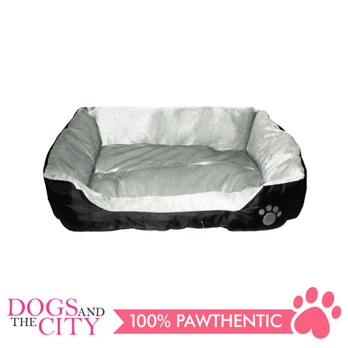 BM Rectangular Oxford Fabric Pet Bed Size1 45x40x12cm for Dog and Cat