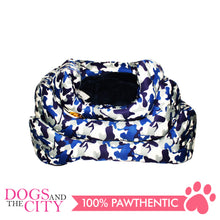Load image into Gallery viewer, BM Rectangular Modern Camouflage Pet Bed Sz 2 50x45x10cm for Dog and Cat