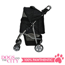 Load image into Gallery viewer, BM SP02 4 Wheel Stroller Black