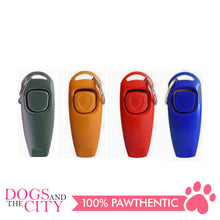 Load image into Gallery viewer, JX 2 In 1 Pet Trainer Clicker with Whistle