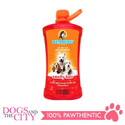 Bearing Tick & Flea Dog Shampoo Smelly Hair 3000ml