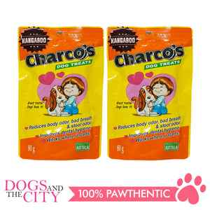 Charcos Treats Kangaroo 80g (2 Packs) - All Goodies for Your Pet