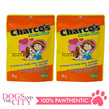 Load image into Gallery viewer, Charcos Treats Original 80g (2 Packs) - All Goodies for Your Pet