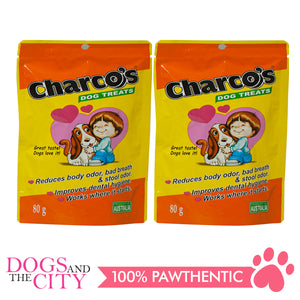 Charcos Treats Original 80g (2 Packs) - All Goodies for Your Pet