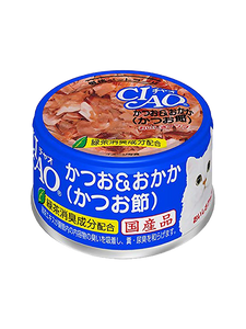 CIAO A-10 White Meat Tuna with Cuttle Fish in Jelly Cat Wet Food 85g (3 cans)