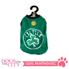 Load image into Gallery viewer, DOGGIE STAR T-Shirt Celtics Green
