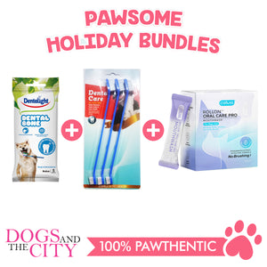 DATC Christmas Dental Medium Dog Bundle Set