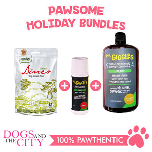 DATC Christmas Fresh and Clean Dog Bundle Set