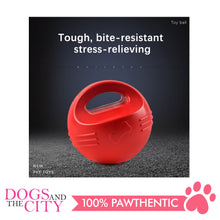 Load image into Gallery viewer, DGZ Extra Strong Dog Toy Spiky Round Bone 20cm