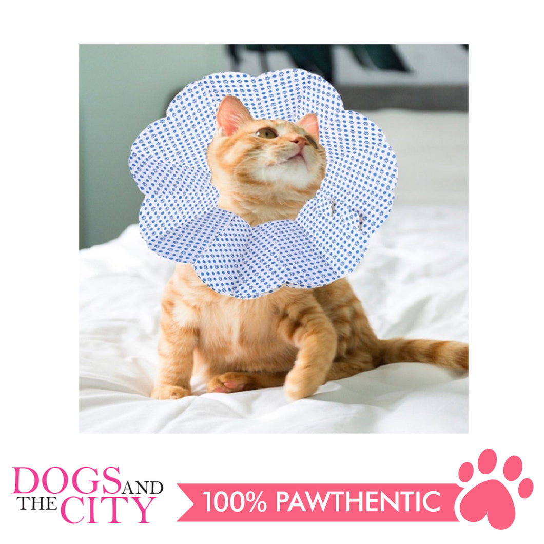 DGZ High Quality Paper Elizabeth Collar 2 Pieces for Dog and Cat