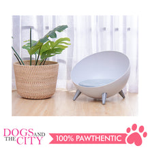 Load image into Gallery viewer, DGZ Elevated Dog and Cat Lounge Bed With Feet 41x31cm