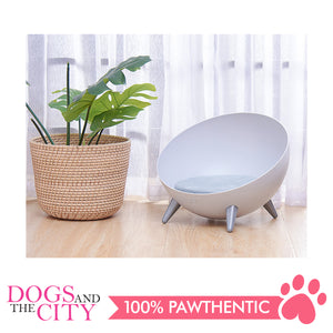 DGZ Elevated Dog and Cat Lounge Bed With Feet 41x31cm
