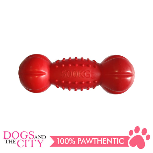 DGZ Extra Strong Dog Toy Spiky Round Bone 20cm