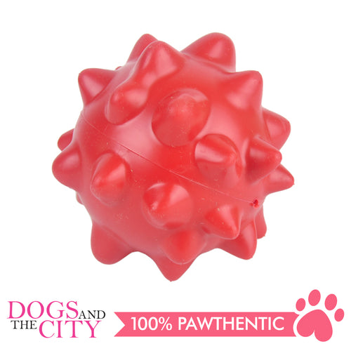 DGZ Extra Strong Dog Toy Spiky Ball 10cm