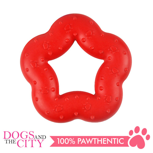 DGZ Extra Strong Dog Toy Star 14x14cm