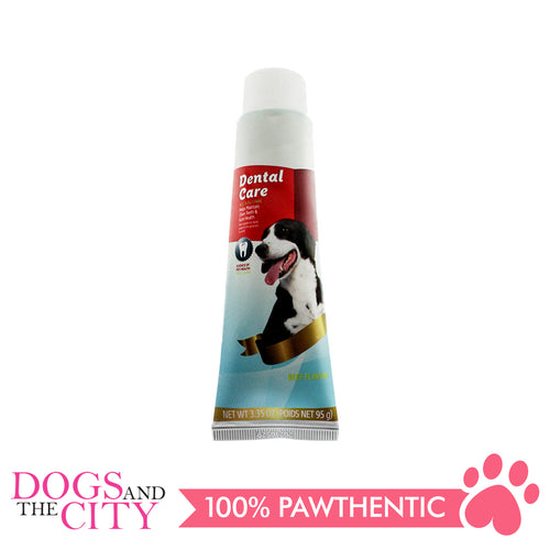 DGZ Dental Care Pet Tooth Paste Beef Flavor 95g