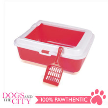 Load image into Gallery viewer, DGZ SO2A Cat Litter Pan with Cat Scooper 43x33x15cm