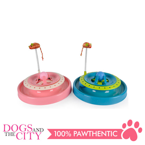 DGZ New Cat Play Plate with Mouse 25cm