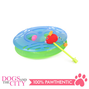 DGZ Single Layer Cat Turntable Play Disc Cat Funny Toy 30cm
