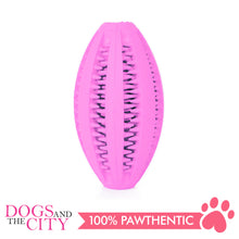 Load image into Gallery viewer, DGZ Interactive Rubber IQ Dog Toy Medium 12x6cm