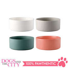 Load image into Gallery viewer, Dgz Nordic Ceramic Pet Bowl Small 400ml 13x5cm for Dog and Cat
