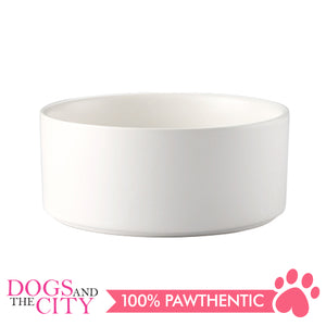 Dgz Nordic Ceramic Pet Bowl Large 850ml 21x8cm for Dog and Cat