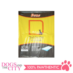 Dono Training Pads 33X45cm SMALL 100's - All Goodies for Your Pet