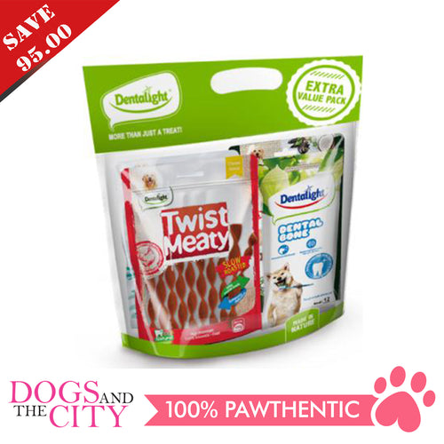 DENTALIGHT 10066-1 (Save P95) Assorted Dog Treats 4 Packs Extra Value Pack