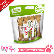 "Load image into Gallery viewer, DENTALIGHT 10066-3 (Save P135.00) 8"" Nutri Diner Tasty Chicken Dog Treats 4 Packs Extra Value Pack"
