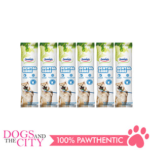"Dentalight 2276 2.5"""" Dental Bone-Small 2pcs 16g Dog Treats (6 Packs)"