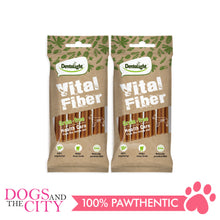 "Load image into Gallery viewer, Dentalight 8131 5"" Vital Fiber Wellbar Dog Treats 70g (2 packs - Dogs And The City Online"