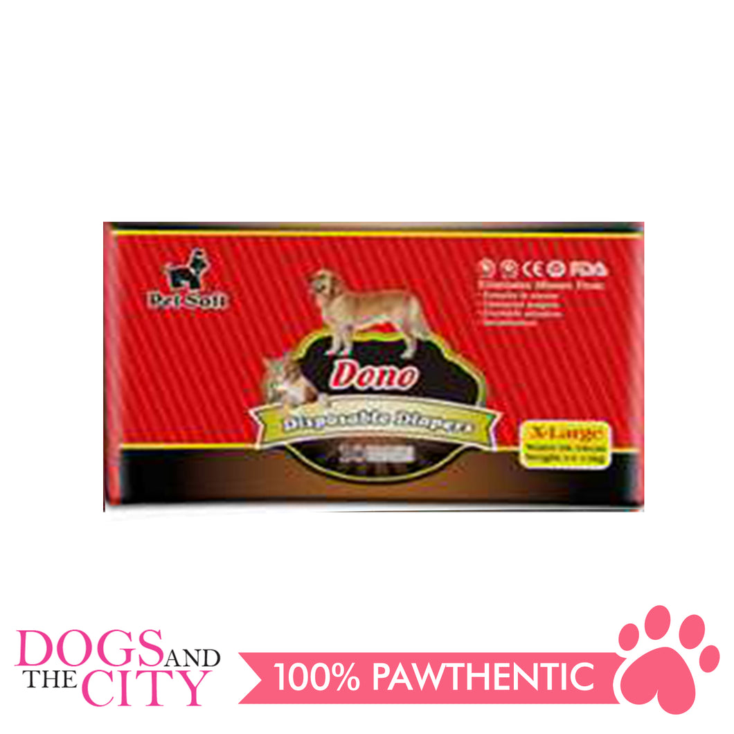 Dono Disposable Diaper XL (10pcs/pack) - Dogs And The City Online