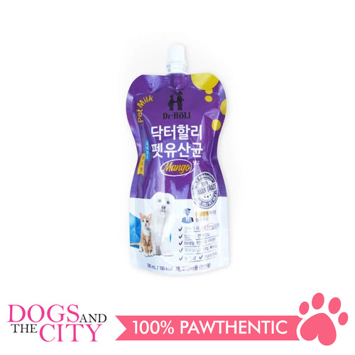 Dr. Holi Dog Milk Mango 200ml - All Goodies for Your Pet