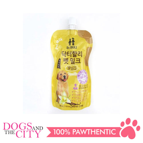 Dr. Holi Dog Milk Vanilla 200ml - All Goodies for Your Pet
