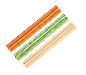 "Dentalight 5147 2.5"" Dental Stick Assorted Flavors 220g - All Goodies for Your Pet"