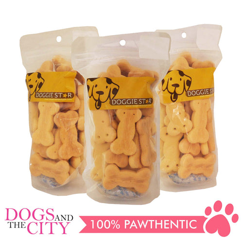 Doggie Star Carrot Dog Biscuit 80g (3 packs) - All Goodies for Your Pet