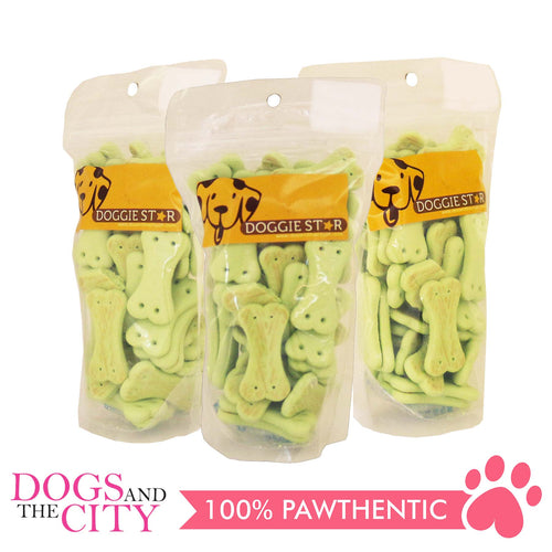 Doggie Star Vegetable Dog Biscuit 80g (3 packs) - All Goodies for Your Pet