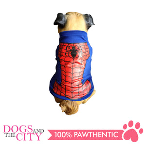 Doggiestar Spiderman Blue T-Shirt for Dogs - All Goodies for Your Pet