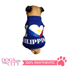 Load image into Gallery viewer, Doggiestar I Love Philippines Blue T-Shirt for Dogs - All Goodies for Your Pet
