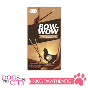 Endi E025 Bow-Wow Milky Stick Wraps Liver Dog Treats 96g