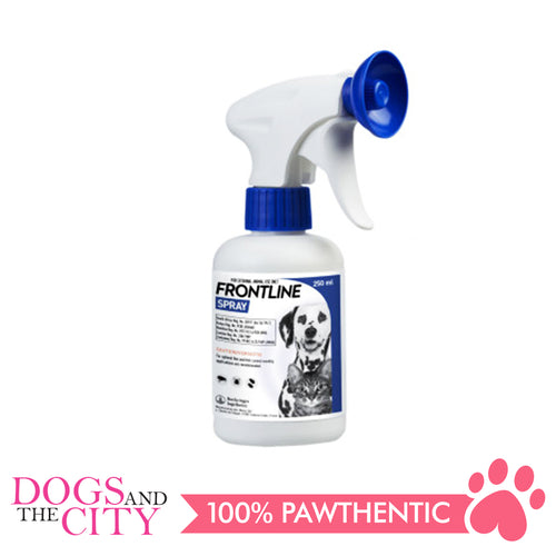 Frontline Flea & Tick Spray for Dogs & Cats 250ml - Dogs And The City Online