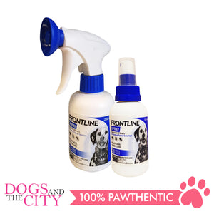 Frontline Flea & Tick Spray for Dogs & Cats 100ml - Dogs And The City Online