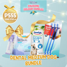 Load image into Gallery viewer, DATC Christmas Dental Medium Dog Bundle Set