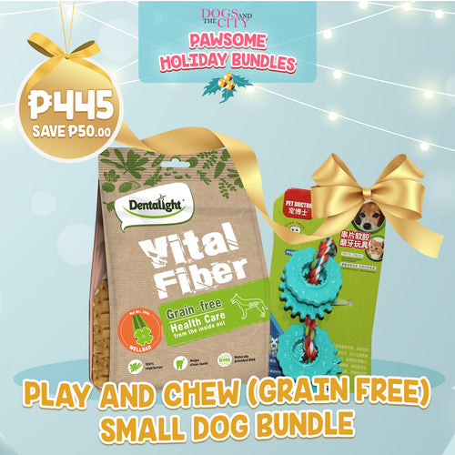 DATC Christmas Play and Chew (Grain Free) Small Dog Bundle Set
