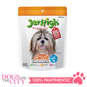 Jerhigh Treats Carrot 420g - All Goodies for Your Pet