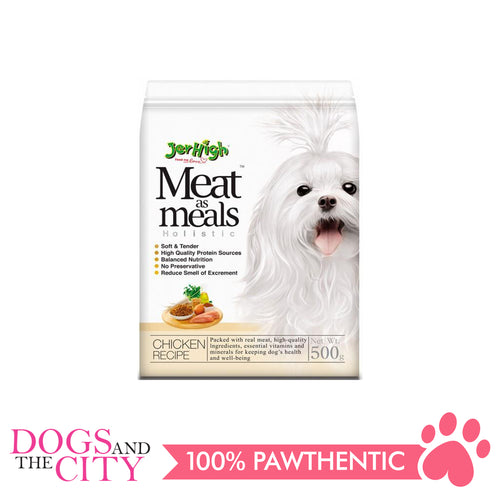 Jerhigh Meat Meals Dog Food Chicken Flavor 500g - All Goodies for Your Pet
