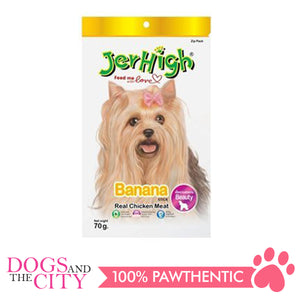 Jerhigh Treats Banana 70g - All Goodies for Your Pet