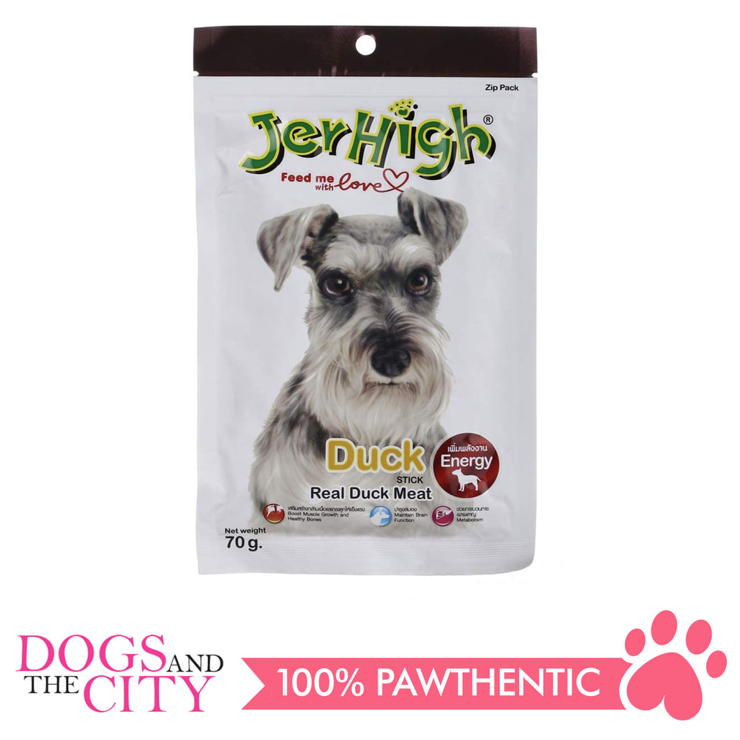 Jerhigh Treats Duck 70g - All Goodies for Your Pet