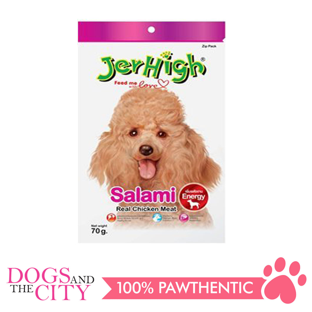 Jerhigh Treats Salami 70g - All Goodies for Your Pet